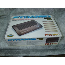 Potência - Pyramid - Pro 800 - Lacrada - 4 Canais