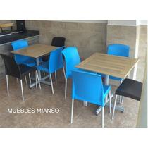 Mesa Patina Tabaco Para Restaurantes Cafeterías Y Bares
