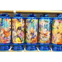Dragon Ball Z Centros De Mesa Lamparas Recuerdos 1regalo