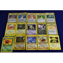 Cartas Pokemon Originales Ed. 95-00