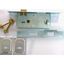 Cerradura Doble Paleta Roa 901 Tipo Prive - Trabex