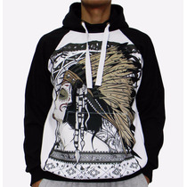 Blusa De Frio Printfull Native Girl Tattoo Moletom Unissex