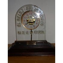 Reloj Frances Publicitario Ato Antiguo Y Raro Del 1920-30