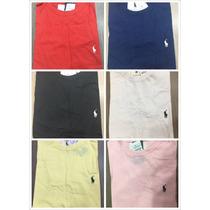 Camiseta Polo Ralph Lauren Masculina Liso Com 10 Unidade