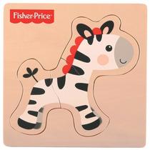 Puzzle Bebê Fisher Price Meu Primeiro Quebra Cabeça Zebra