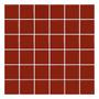 Venecitas De Vidrio Premium - Pileta - Malla 30x30 - Rojo