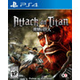 Ataque A Los Titanes: Wings Of Freedom Ps4
