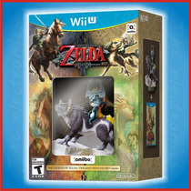 Zelda Twilight Princess Hd + Amiibo Wii U | Tac Electronics!