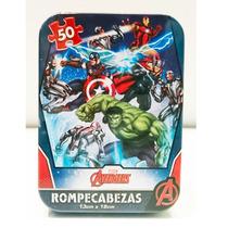 Avengers - 3 Rompecabezas Originales De 50 Pza Disney Hulk