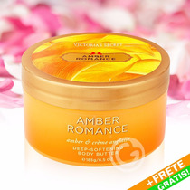 Victoria´s Secret Amber Romance Body Butter Manteiga + Frete