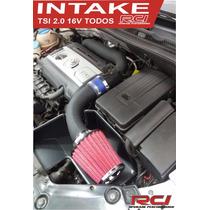 Kit Intake Rci Filtro De Ar Esportivo Jetta, Audi, Fusca Tsi