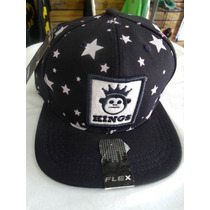 Bone Aba Reta Snapback Bombeta Regulagem Stars Kings