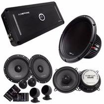 Kit Audiophonic Club 5.1dhp + Kc6.3 + Cb525v3 + C1-10d4
