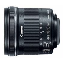 Lente Ef-s 10-18mm Stm Garantia 1 Ano Canon