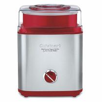 Maquina Cuisinart Ice-30r Para Hacer Yougurt,sorbet Y Nieve