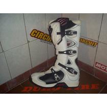 Botas De Motocross Fox Comp 5 Blancas ( T.45 Eu )