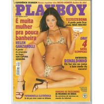 Playboy 302 Helen Ganzarolli - Abril - Bonellihq Cx438
