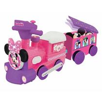 Tren Montable De Minnie Con Sonidos Niñas Carrito