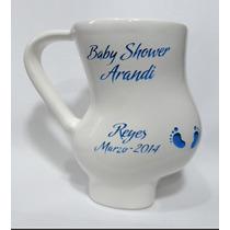 Recuerdo Baby Shower, Taza Embarazada Incluye Grabado,