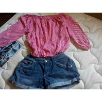 Blusas De Dama Campesina Camisa Encaje Cola Pato Juveniles