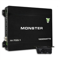 Potencia Monster M700 Sub Woofer 1500 Watts 700 Rms Auto 12v