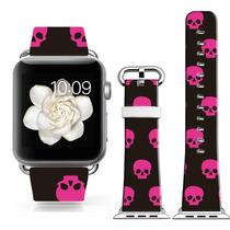 Cisland Apple Modelo Venda Reloj 42 Mm Deporte Cuero Genuino