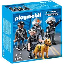 Playmobil Código 5565 Polícia Equipe Tática