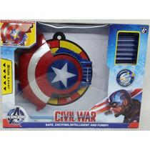 Capitão América Guerra Civil - Escudo Lança Dardos - K50