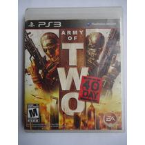 Army Of Two 40 Days Para Playstation 3 Ps3 Excelente Estado