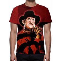 Camisa, Camiseta Freddy Krueger - Estampa Total