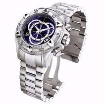 Relógio Masculino Prata Em Aço Na Caixa Frete Gratis