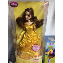 Muñeca Princesas De Colección Disney Bella