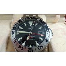 Relógio Omega Gmt 50 Anos Seamaster Unico No Ml