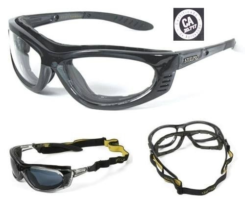 ca7a0fcb896de Armação Oculos Segurança P  Lentes De Grau Steepro Vicsa Epi - R  75,00 em Mercado  Livre