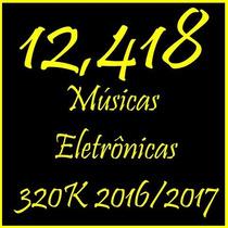 Músicas Eletrônicas 2016/2017 Conteúdo Único Do Ml 154gb