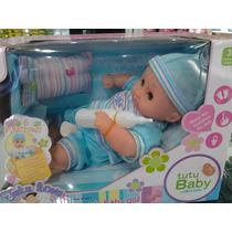 Muñeca Tutu Love Lovely Baby Doll 6 Funciones C/ Accesorios