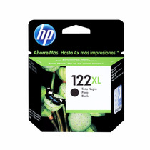 Cartucho De Tinta Hp 122xl Black Original
