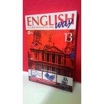 Livro, Cd, Dv English Way Vol 13 O Curso De Inglês Da Abril