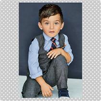 Traje De Vestir Para Niños Pantalon Camisa Corbata Chaleco
