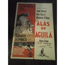Afiche Original Alas D Águila John Wayne