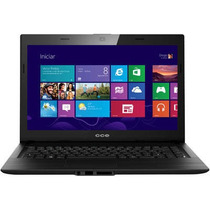 Notebook Cce F40-30 N2830/ Dual Core/ 2.6ghz/4gb/ 500 Hd