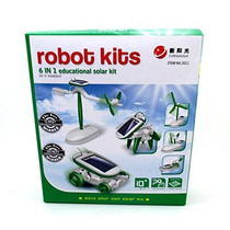 6-en-1 Kit Solar Educativo De Construir Su Propio Robot