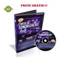 Curso Dvd Video Aula De Sonorização Fernando Gundlach Frete