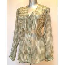 Blusa De Gasa (blusa De Mujer, Camisa De Dama, Blusa Vestir)