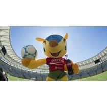 Boneco Gigante Fuleco Mascote Coca Coal Copa Mundo Fifa 2014