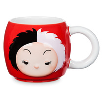Tsum Tsum Cruella De Vil Taza Cerámica 16 Oz Disney Store