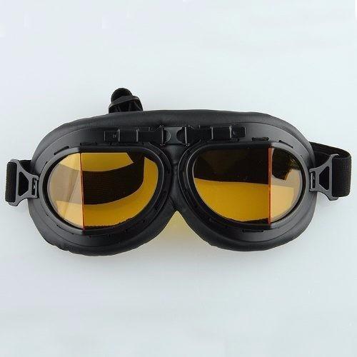 fe3213052b8c3 Óculos Goggles Motociclista Luxo Café Racer Vintage Promoção - R  120,00 em  Mercado Livre