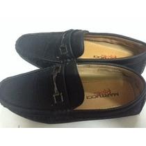 Zapatos Tipo Mocasin.usado 1 Vez.martucci.talla 36