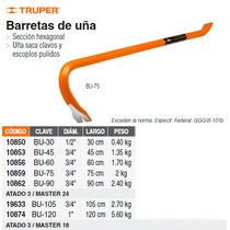 Barreta De Una De 3/4 X 45 Cm