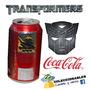 Lata Coleccionable Coca Cola Transformers
